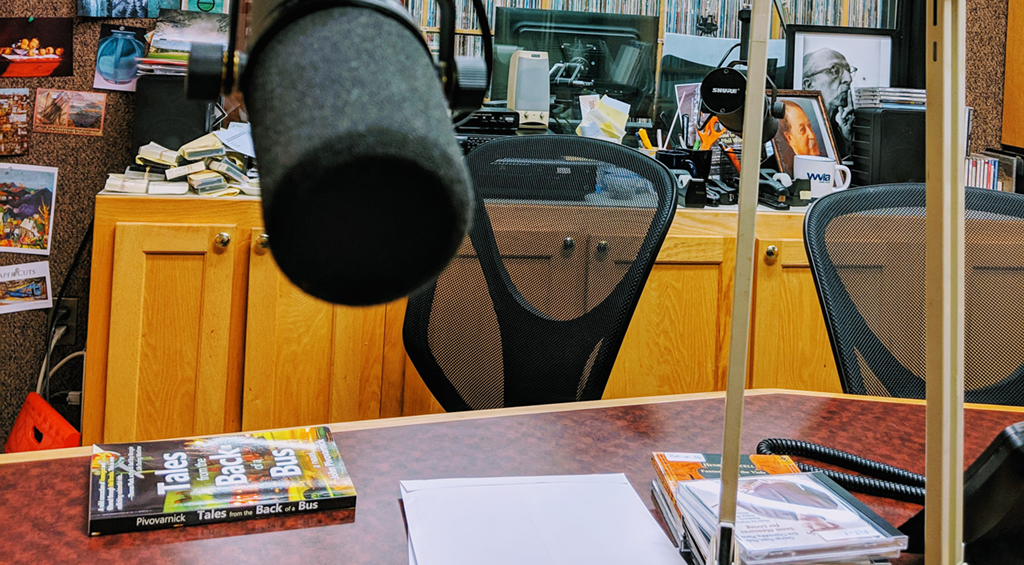 WVIA-FM Studio